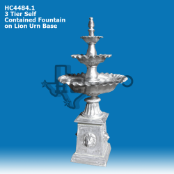 3-tier-fountain-on-lion-face-base