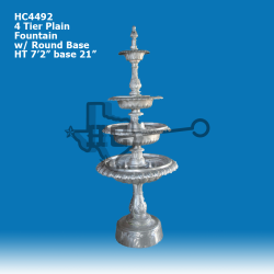 4-tier-plain-fountain-w-round-base