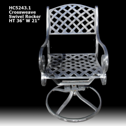 Crossweave-swivel-rocker