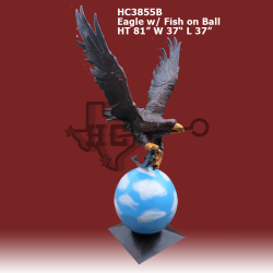 Eagle-W-fish-on-Ball-color