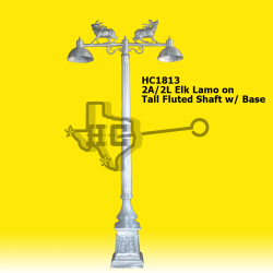 Elk-Lamo-on-Tall-Fluted-shaft