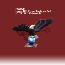 Large-10ft-flying-Eagle-on-Ball-colored