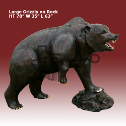 Large-grizzly-on-rock-color