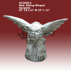 Med-sitting-Winged-Gargoyle