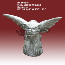 Med-sitting-Winged-Gargoyle