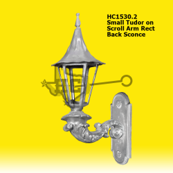 Small-Tudor-on-Scroll-Arm-Rect-Back-Sconce