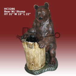 bear-with-stump-color