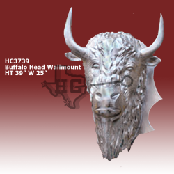 buffalo-head-wallmount