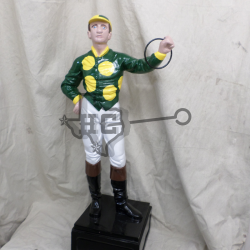 jockey-green-yellow-dots