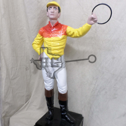 jockey-yellow-orange