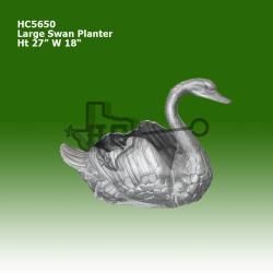 large-swan-planter