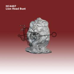 lion-head-bust
