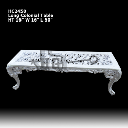 long-colonial-table