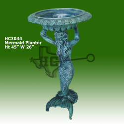 mermaid-planter