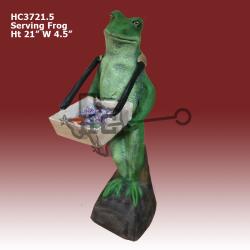 serving-frog