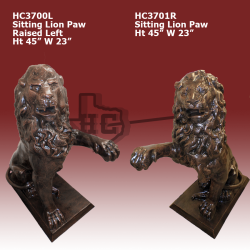 sitting-lions