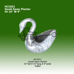 small-swan-planter