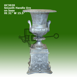 smooth-handle-urn-on-base